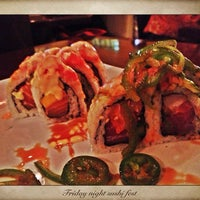Photo taken at Rise Modern Asian Cuisine and Sushi by Johnni F. on 9/13/2013