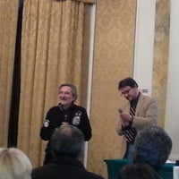 Photo taken at Grand Hotel La Pace by Enrico T. on 2/19/2013