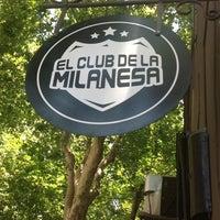 Photo taken at El Club de la Milanesa by Lucho S. on 1/9/2013