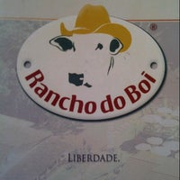 Photo taken at Rancho do Boi by Fabio S. on 7/17/2013