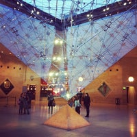 Photo taken at Carrousel du Louvre by Jonathan G. on 1/20/2013