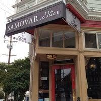 Photo taken at Samovar Tea Lounge by Becky C. on 9/28/2012
