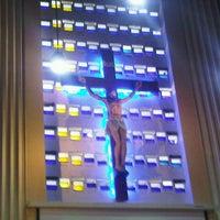 Photo taken at Gereja St. Ignatius Loyola by Robbin Barry W. on 12/25/2012