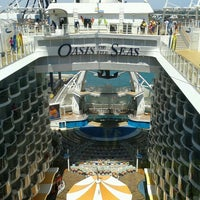 Photo taken at Royal Caribbean Oasis of the Seas by Shawn M. on 3/30/2013