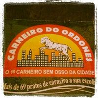 Photo taken at Carneiro do Ordones by Adeilton R. on 1/13/2013