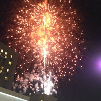 Photo taken at Raleigh Marriott City Center by Logan M. on 7/5/2013