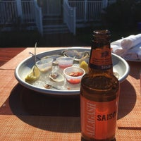 Photo taken at The Brant Point Grill at The White Elephant Hotel by Todd S. on 5/23/2015