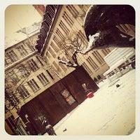 Photo taken at PLUS Berlin Hostel and Hotel by Fernanda S. on 1/23/2013