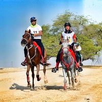 Photo taken at Equestrian Endurance Village by Hasan A. on 12/26/2013