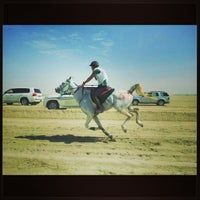Photo taken at Equestrian Endurance Village by Hasan A. on 2/2/2013