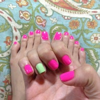 Photo taken at Glam Nails by June on 5/16/2014