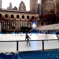 Photo taken at Bank of America Winter Village at Bryant Park by Jeffrey P. on 1/16/2013
