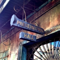 Photo taken at Preservation Hall by Jeffrey P. on 7/19/2013