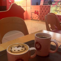 Photo taken at Hello Kitty Cafe by Stella K. on 4/21/2013
