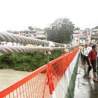 Photo taken at Lakshman Jhula   लक्ष्मण झूला by Rain D. on 8/14/2016