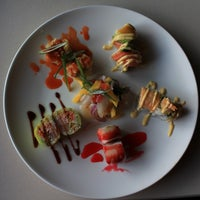 Photo taken at Fusion Fire Asian Fondue & Sushi Bar by Fusion F. on 4/13/2013