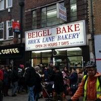 Photo taken at Beigel Bake by Wammo on 1/13/2013