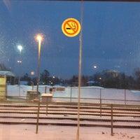 Photo taken at Eglinton GO Station by Jason M. on 2/16/2013
