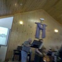 Photo taken at Five Forks Church by Matthew K. on 11/4/2012