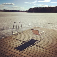 Photo taken at Sognsvann by Alex on 5/5/2013