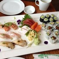 Photo taken at Baan Thai / Tsunami Sushi by Melissa L. on 12/16/2012