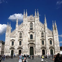 Photo taken at Piazza del Duomo by Laura C. on 5/23/2013