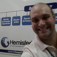Photo taken at Hemisferios C.A. by Iván de Jesus Y. on 7/30/2013
