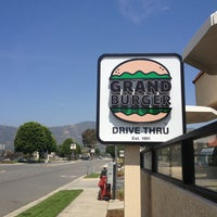 Photo taken at Grand Burger by Darin M. on 4/22/2013