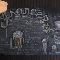 Photo taken at Frances' Deli by Andre P. on 3/29/2013
