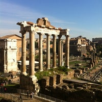 Photo taken at Foro Romano by Christiaan P. on 11/10/2012