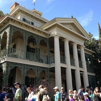 Photo taken at Haunted Mansion by Roger N. on 2/15/2013