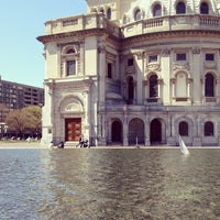 Photo taken at Christian Science Plaza by Jake S. on 4/28/2013