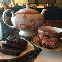 Photo taken at Tea Lounge at Mandarin Oriental, Las Vegas by Kelani F. on 2/9/2016