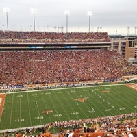 Photo taken at Darrell K. Royal-Texas Memorial Stadium by Charlie H. on 10/6/2012