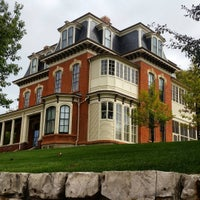 Photo taken at General Dodge House by Backyard Tourist on 10/9/2015