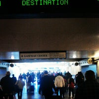 Photo taken at FlyAway - Union Station to LAX by Oscar M. on 2/26/2013