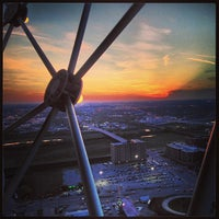 Photo taken at Reunion Tower by Catherine C. on 4/2/2013