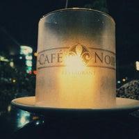 Photo taken at Café Noir by Nirmal K. on 5/25/2016