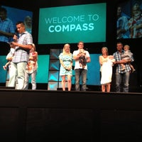 Photo taken at Compass Christian Church by Mitch F. on 7/13/2013