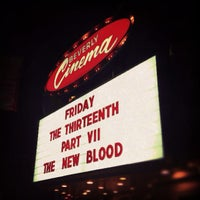 Photo taken at New Beverly Cinema by Mike B. on 7/28/2013