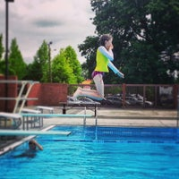 Photo taken at Shute Park Aquatic & Recreation Center (SHARC) by Stephanie on 6/27/2013