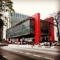 Photo taken at São Paulo Museum of Art by Thiago . on 5/30/2013