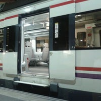 Photo taken at Estación de Oviedo by Beatriz S. on 10/7/2012