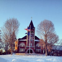 Photo taken at Thompson Hall by UNH Students on 1/18/2013