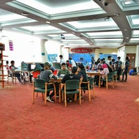 Photo taken at Perpustakaan Kuala Lumpur (Library) by > A. on 6/18/2016