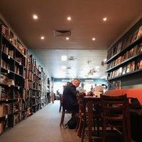 Photo taken at Book Talk Café by Steve on 9/7/2014