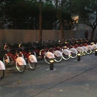 Photo taken at Ecobici 59 by Lil N. on 8/20/2013