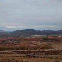 Photo taken at Minera Buenavista De Cobre by Rask Issau H. on 4/4/2014