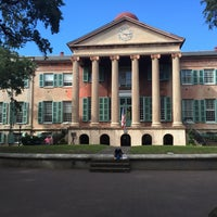 Photo taken at Harrison Randolph Hall, College of Charleston by JP F. on 10/22/2015