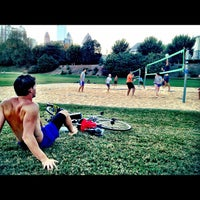 Photo taken at Piedmont Park Active Oval by DB on 10/17/2012